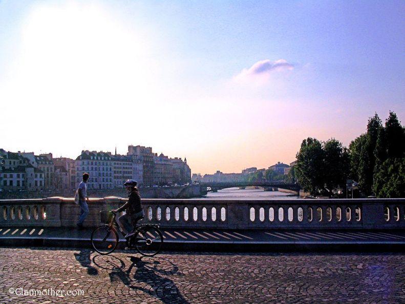 On a Paris Bridge