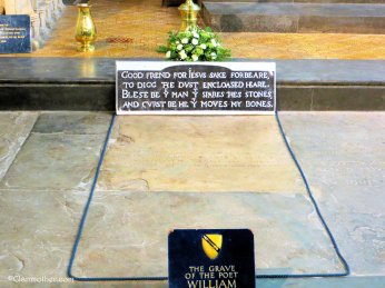William Shakespeare's Resting Place