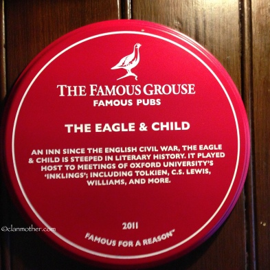 The Eagle & Child Pub, Oxford, England