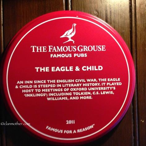 The Eagle & Child Pub, Oxford, England