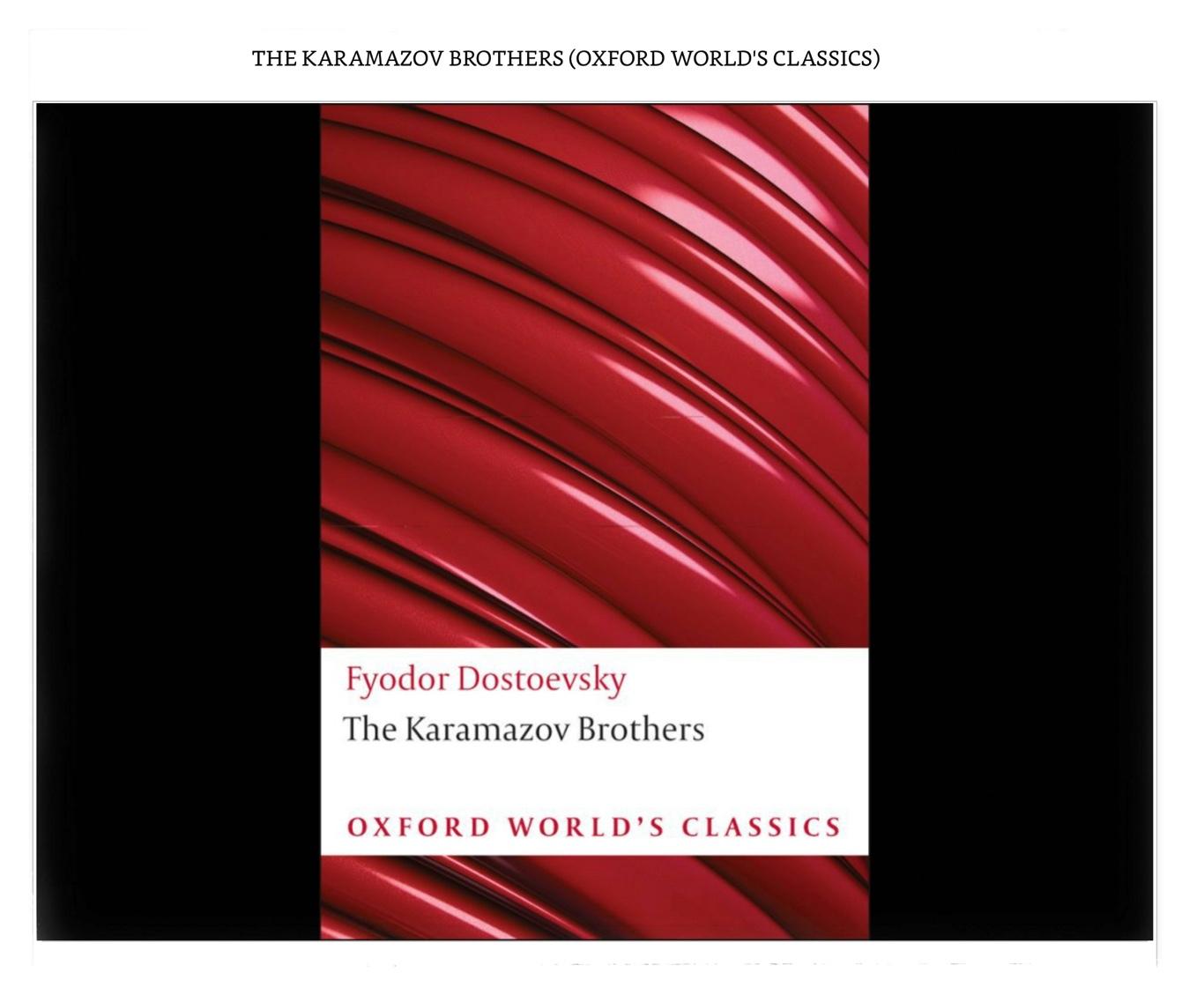 #KaramazovReadalong Day 1: Who is Fyodor?